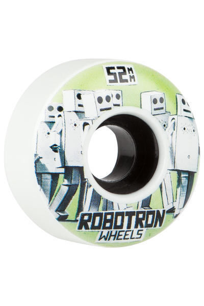 Robotron Photocopy 52mm Wheel (white) 4 Pack