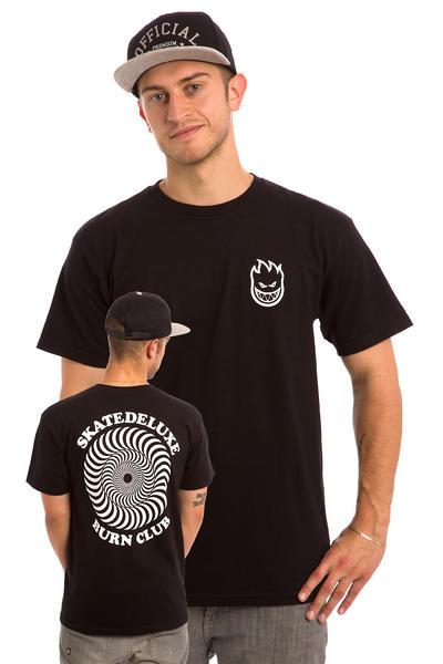 SK8DLX x Spitfire O.G. Classic Burn Club T-Shirt (black)