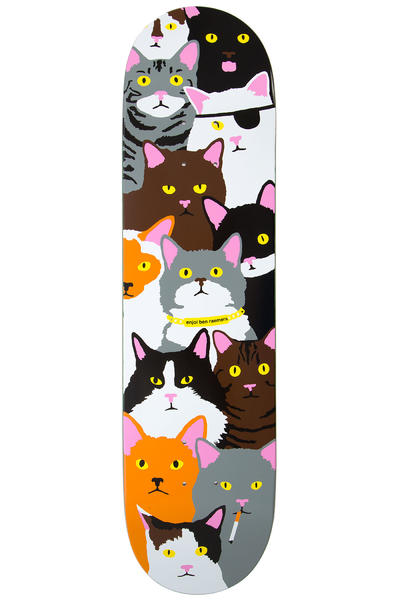 "Enjoi Raemers Cat Collage 8"" Deck (multi)"