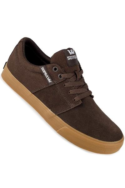 Supra Stacks Vulc II Shoe (coffee gum)