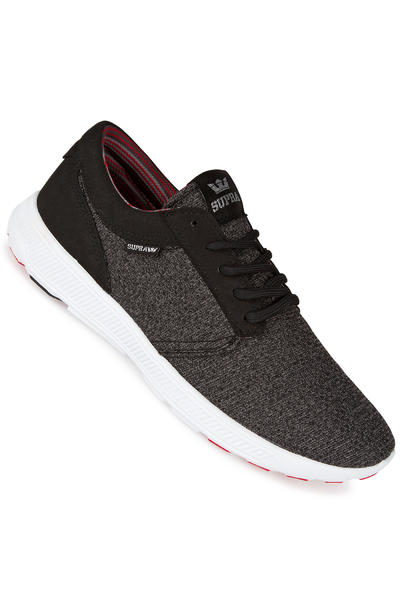 Supra Hammer Run Shoe (charcoal heather red black white)