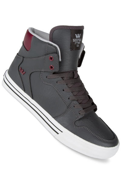 Supra Vaider Shoe (charcoal port white)