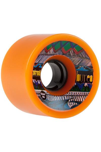 Bureo Satori Eco 63mm 78A Wheel (tangerin) 4 Pack