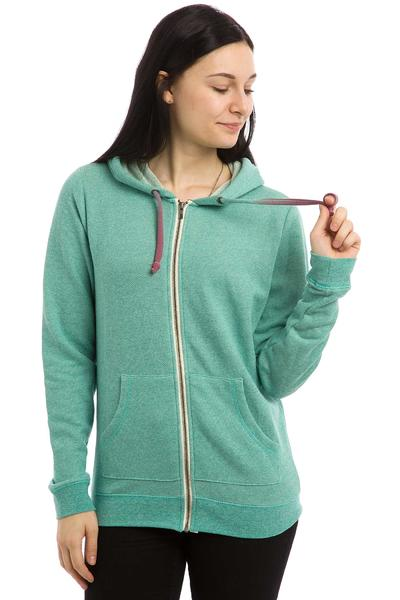 Roxy Signature Zip-Hoodie women (agate green)