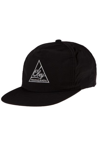 Obey Federation Snapback Cap (black)