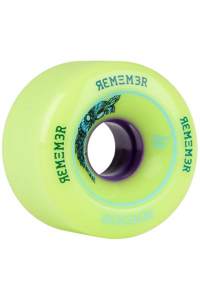 Remember Lil Hoot 65mm 78A Rollen 4er Pack (green)
