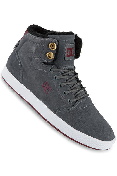 DC Crisis High WNT Shoe (grey dark red)