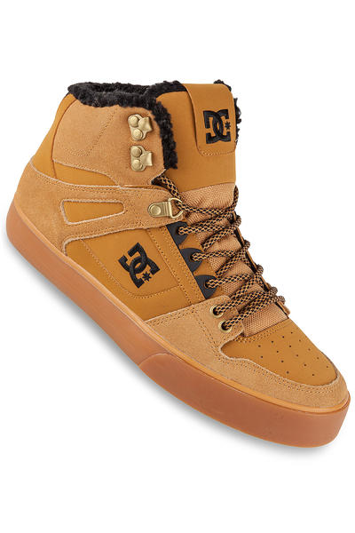 DC Spartan High WC WNT Shoe (wheat turkish coffee)