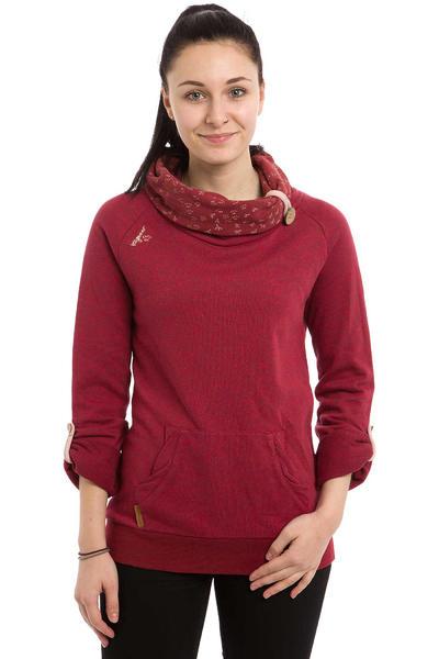 Ragwear Deena B Sweatshirt women (rosewood red melange)