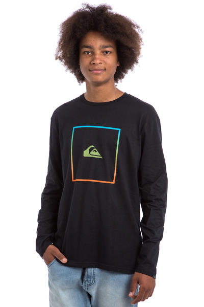 Quiksilver Shut Up And Surf Longsleeve (black)