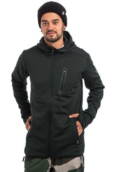 Quiksilver Preston Fleece Snow Zip-Hoodie (black)