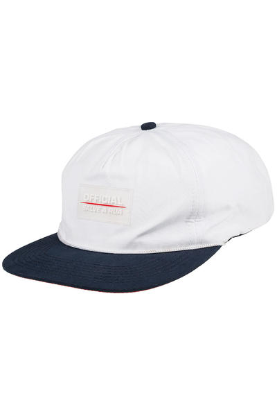 Official Crown of Laurel TX Quickdry Cap (white navy)