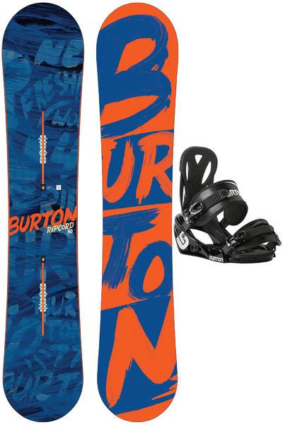 Burton Ripcord 150cm / Outpost M Snowboardset 2015/16