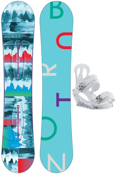 Burton Feather 144cm / Citizen M Snowboardset 2015/16 women