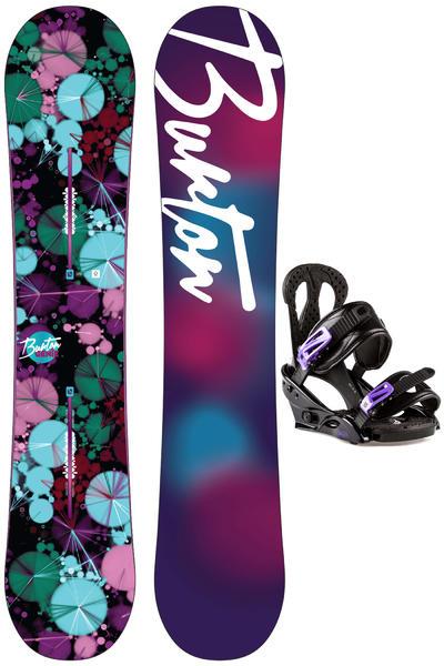 Burton Genie 142cm / Oasis M Snowboardset 2015/16 women