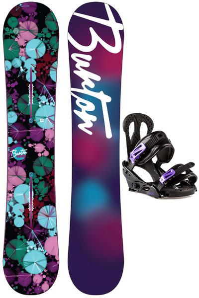 Burton Genie 152cm / Oasis L Snowboardset 2015/16 women