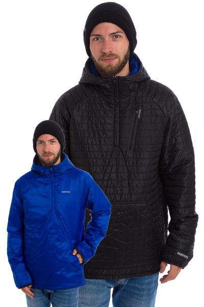 Burton Cabin Jacke reversible (true black)