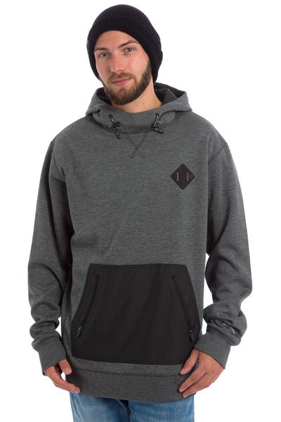 Burton Hemlock Bonded Snow Hoodie (true black heather)