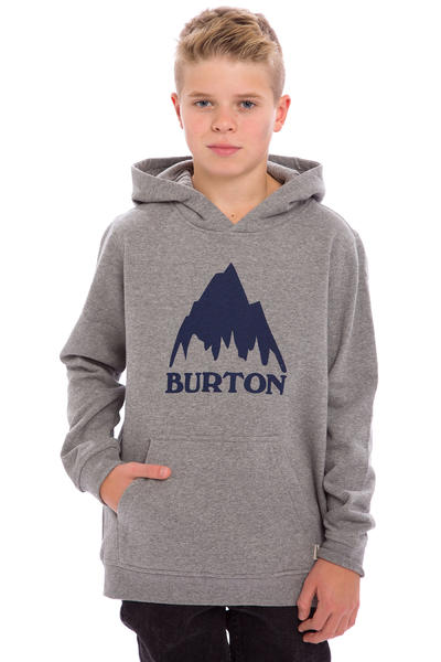 Burton Classic Mountain Hoodie kids (grey heather)