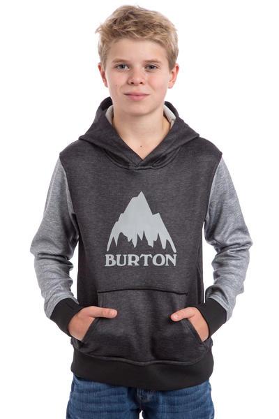 Burton Crown Bonded Hoodie kids (true black highrise heather)