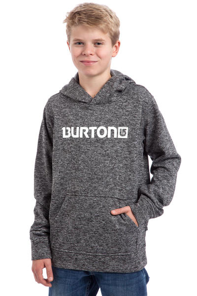 Burton Oak Bonded Hoodie kids (true black dark ash heather)