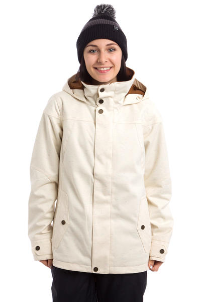 Burton Jet Set Snowboard Jacket women (canvas color slub)