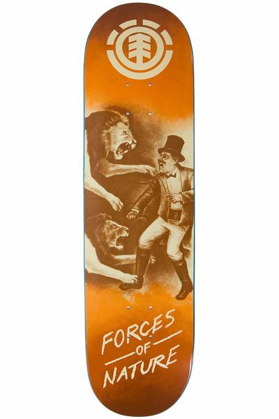 "Element Force Of Nature Lion 8.25"" Deck (orange)"