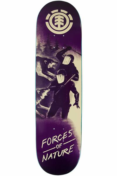 "Element Force Of Nature Wolf 8.375"" Deck (purple)"