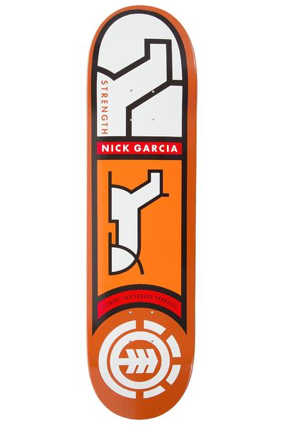 "Element Garcia Heiroglyphics 8.25"" Deck (orange)"