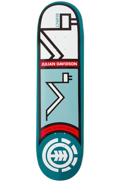 "Element Julian Heiroglyphics 8.375"" Deck (turquoise)"