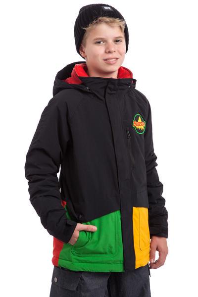 Burton Phase Snowboard Jacke kids (rasta)