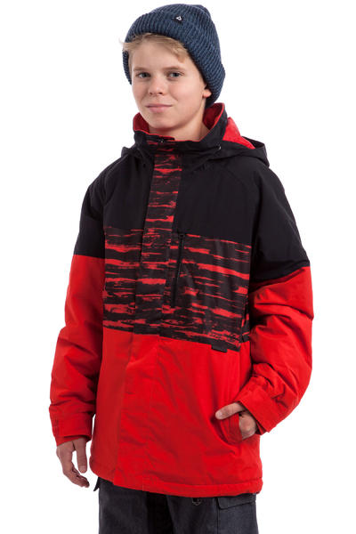 Burton Symbol Snowboard Jacke kids (burner sloppy stripe block)