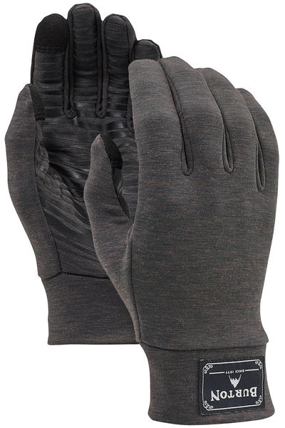 Burton Wool Liner Handschuhe (black heather)