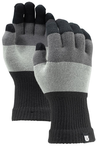 Burton Touch N Go Knit Gloves (heathered block)