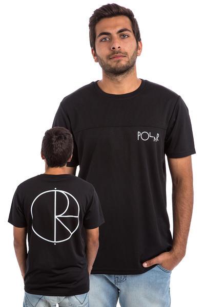 Polar Skateboards Stroke Logo - PSC Fit T-Shirt (black white)