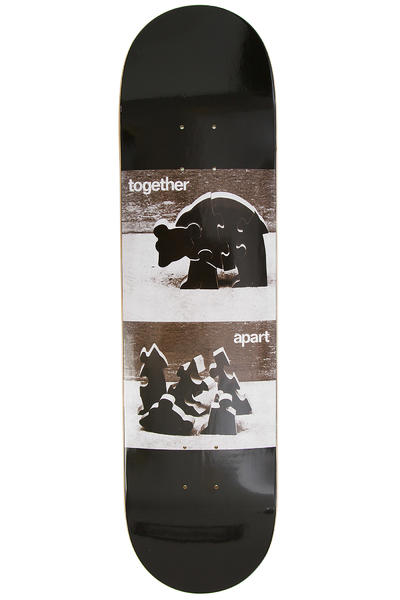 "Isle Skateboards Tognelli Push Pull Series II 8.125"" Deck (black white)"