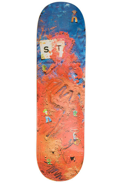 "Isle Skateboards Tognelli Paint & Pigment Series 8.375"" Deck (multi)"