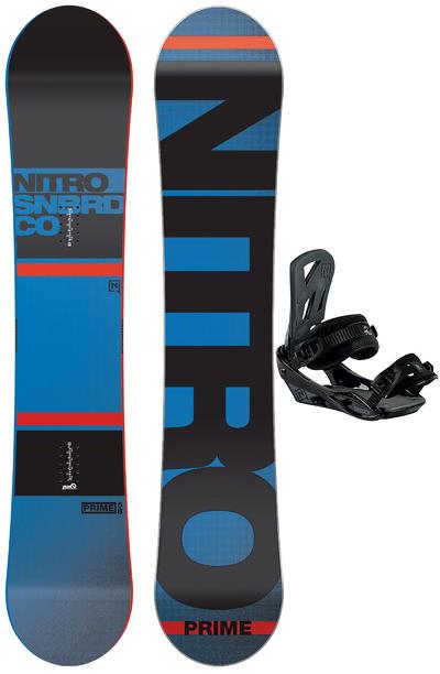 Nitro Prime 158cm / Staxx L Snowboardset 2015/16