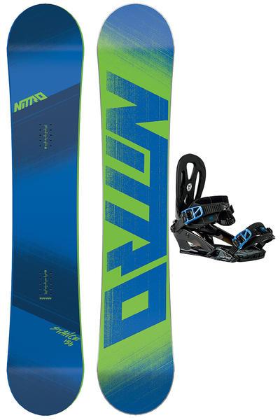 Nitro Stance 156cm / Wizard M Snowboardset 2015/16