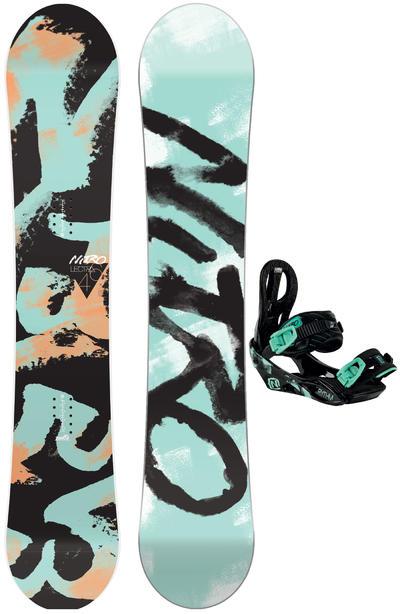 Nitro Lectra 146cm / Rythm S Snowboardset 2015/16 women