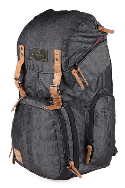 Nitro Weekender Mochila 42L (black denim)