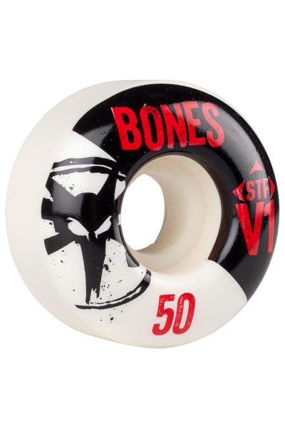 Bones STF-V1 Series II 50mm Rollen (white) 4er Pack