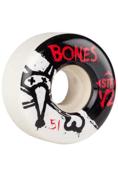 Bones STF-V2 Series II 51mm Rollen (white) 4er Pack