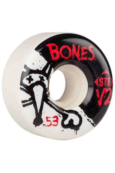Bones STF-V2 Series II 53mm Rollen (white) 4er Pack