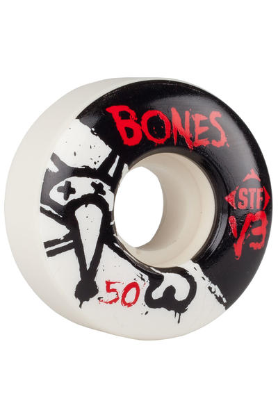 Bones STF-V3 Series II 50mm Rollen (white) 4er Pack