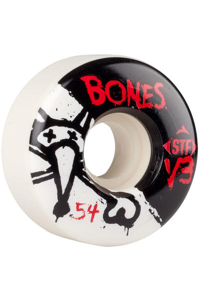 Bones STF-V3 Series II 54mm Rollen (white) 4er Pack
