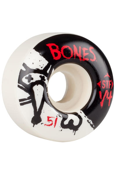 Bones STF-V4 Series II 51mm Rollen (white) 4er Pack