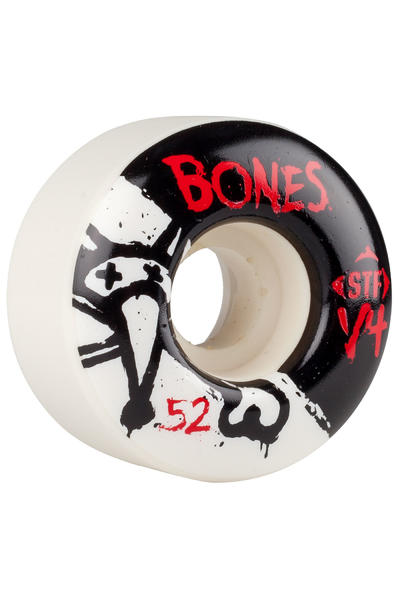 Bones STF-V4 Series II 52mm Rollen (white) 4er Pack