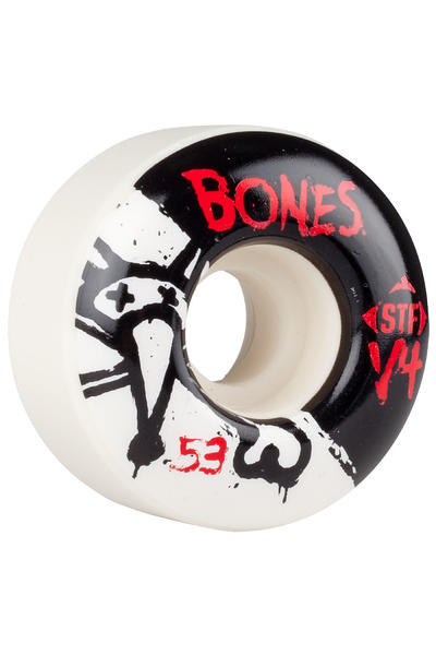 Bones STF-V4 Series II 53mm Rollen (white) 4er Pack