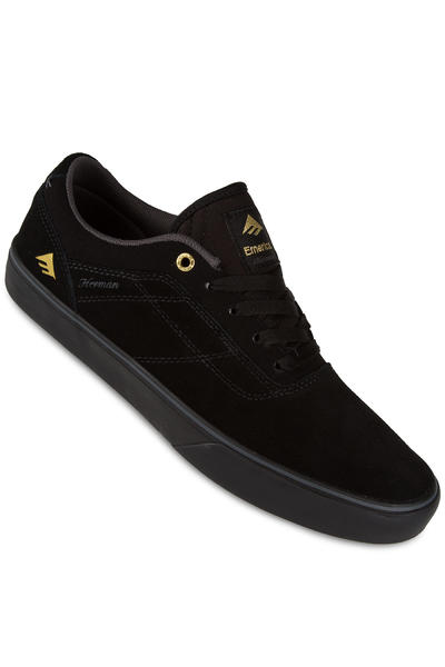 Emerica Herman G6 Vulc Suede Shoe (black black)